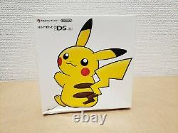 Nintendo DS Lite Pikachu Pokemon Console Japan BOXED GOOD CONDITION