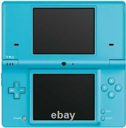 Nintendo DSi Console Blue (Light Blue) with Stylus and Charger Good Condition