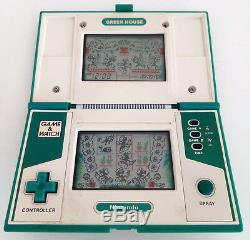 Nintendo Game Watch Green House Gh-54. Boxed + Instructions. Very Good Condition