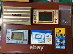 Nintendo Game and Watch FIRE, OIL PANIC, MICKEY 3 SET Good Working Condition F/S