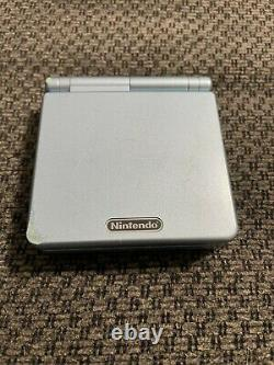 Nintendo GameBoy Advance SP AGS-101 Pearl Blue Very Good Condition
