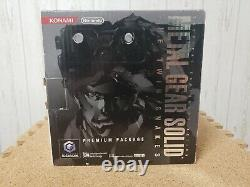 Nintendo Gamecube Metal Gear Twin Snakes Console System GOOD CONDITION