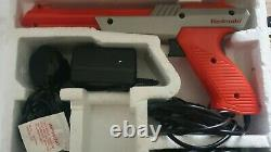 Nintendo (NES) Boxed Action Set Console With Zapper Good Condition / Tested