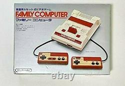Nintendo NES Family Computer in Box Japanese version Used Very good condition