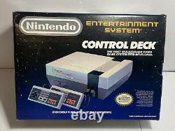 Nintendo Nes 1988 Control Deck Console Box Only Good Condition
