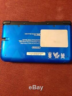 Nintendo Pokemon X & Y Limited Edition 3DS XL Blue, Good Condition With Charger