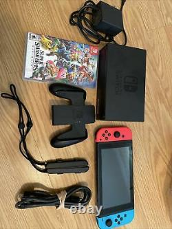 Nintendo Switch 32GB Console WithSuper Smash Bros Ultimate. Very Good Condition