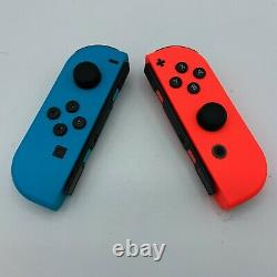 Nintendo Switch 32GB Very Good Condition + Red/Blue Joy-cons