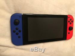 Nintendo Switch Bundle 3 Games, Case, Pro Controller Good Condition Factory Reset