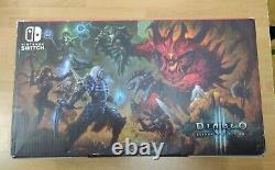 Nintendo Switch Console Diablo 3 Limited Edition Bundle Good condition Case
