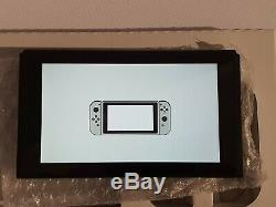 Nintendo Switch Console with Joy-Con Controllers Grey Good Condition