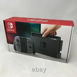 Nintendo Switch Grey 32GB Very Good Condition + Dock + Grey Joy-cons + Cables