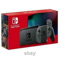 Nintendo Switch Grey Console (Improved Battery) Good Condition