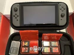 Nintendo Switch HAC-001(-01) Bundle Very Good Condition Lightly Used