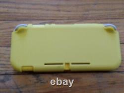 Nintendo Switch -Lite Yellow 32GB with Animal Crossing, Very Good condition