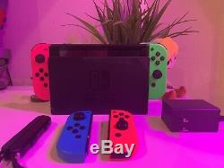 Nintendo Switch With 4 Joy Cons, Used, Good Condition