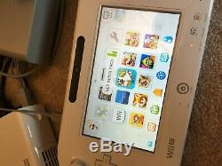 Nintendo Wii U 32GB Super Mario 3D splatoon mario maker Loaded! Good condition