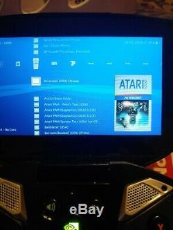 Nvidia Shield Portable With 32gb Memory Card & Retro Games Good Condition