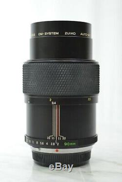 Olympus OM-System Zuiko Auto Macro 90mm f2 Lens in Good condition from Japan