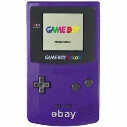 Original Nintendo Game Boy Color System Purple