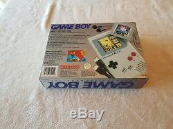 Original Nintendo Game Boy Very Good Condition VGC 5 Games Boxed with Tetris