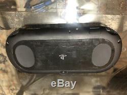PS Vita Playstation Vita Slim handheld console Good Condition W FFX And MK
