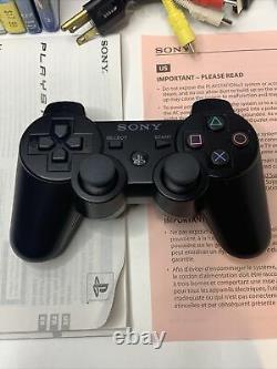 PS3 Fat CECHK01/Original Box/ 5 Games/ 2 Blu Rays/ Very Good Condition