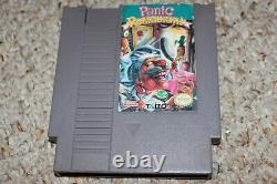 Panic Restaurant (Nintendo Entertainment System NES) Cart Only GOOD Shape