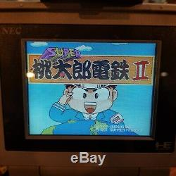 Pc-engine lt console system tested working boxed good condition