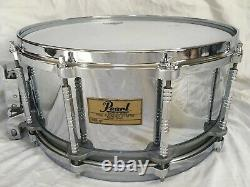 Pearl free floating system steel shell 14 x 6.5 inch good condition made in JPN