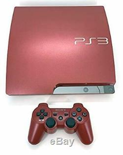 PlayStation 3 PS3 Console 320GB Scarlet Red Japan GOOD CONDITION COMPLETE