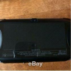 PlayStation Vita Wi-Fi model Black PCH-2000 Good Condition body only