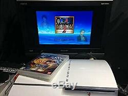 Playstation 3 Ceramic White 80GB Sony Used Good Condition Game Console F/S Japan