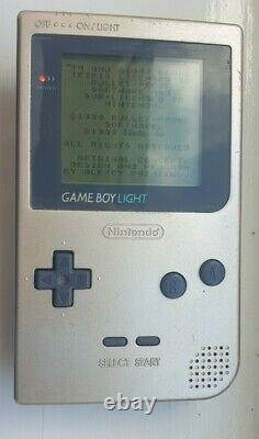 RARE Nintendo Game Boy Light Gold Boxed very good condition
