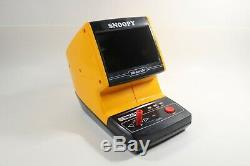 Rare Nintendo Snoopy Tabletop Video Game & Watch Working Good Condition