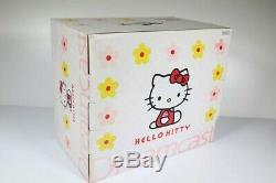 SEGA Hello Kitty DC Set Skeleton Pink Dreamcast Video Game Used good condition
