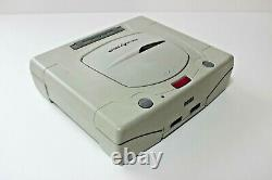SEGA SATURN Console System HST-0014 Boxed Tested Good Condition Work Fully