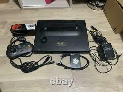 SNK NEO GEO AES Console System Very Good Condition Tested Works Fully Japanese