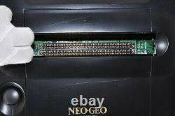 SNK NEO GEO AES Console System with SAMURAI SHODOWN Very Good Condition Tested 2