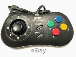SNK NEO GEO CDZ CONSOLE + 2 Games set Working Good condition