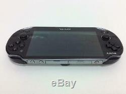 SONY PlayStation PS VITA Wi-Fi Model Black PCH-1000 ZA01 Console Good Condition