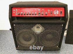 SWR Red Head Integrated Bass System Amplifier, Bass Amp, Good Working Condition