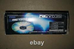 Sega CD Model 1 System Console Complete in Box #58 GOOD Shape