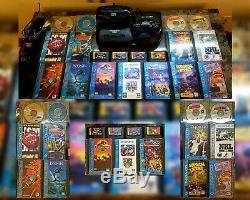 Sega CD, Sega 32x, Sega Genesis Model 2 (VA3) EXTREMELY GOOD CONDITION