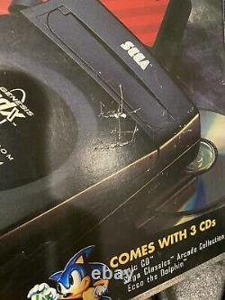 Sega CDX CIB Complete Works Genesis CD Good Condition Console Box Manuals Games