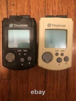 Sega Dreamcast Console, Controller, 2 Memory Card, Cables, Good Condition Tested