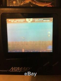 Sega Genesis Nomad with Battery Pack- Working, Very Good Condition