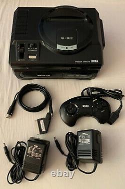 Sega Mega Drive & Mega CD 1 Consoles Good Condition