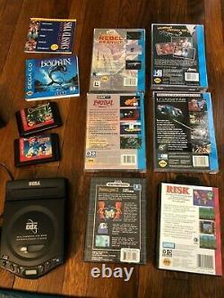 Sega cd, Sega Genesis CDX, very good condition, TESTED, NO AV CABLE, GAME bundle