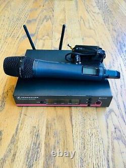 Sennheiser EW 100 G3 Handheld Wireless Microphone system in GOOD condition